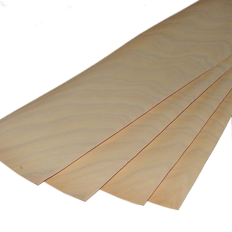 "Beech veneer <br /> Set of 4 leafs: <br />22"" x 5.5"" ( 56 x 14 cm )"