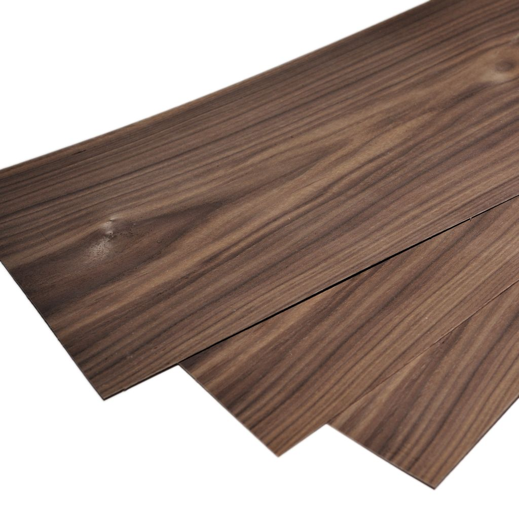 Walnut Plywood 1 5mm 22 X 7 5 56 X 20 Cm
